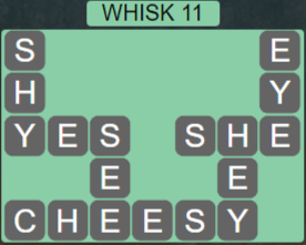 Wordscapes Wind Whisk 11 - Level 4075 Answers