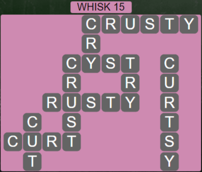 Wordscapes Wind Whisk 15 - Level 4079 Answers