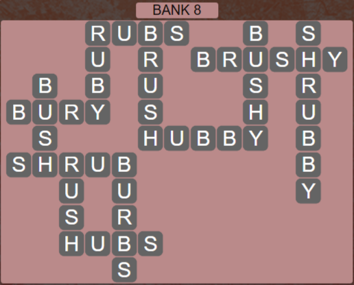 Wordscapes Shore Bank 8 - Level 4120 Answers