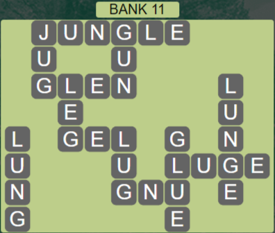 Wordscapes Shore Bank 11 - Level 4123 Answers