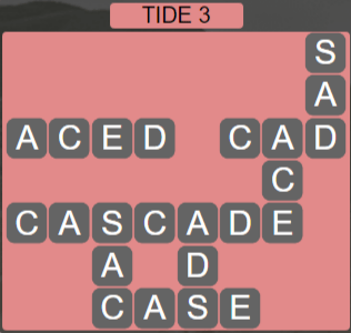 Wordscapes Shore Tide 3 - Level 4131 Answers