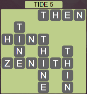 Wordscapes Shore Tide 5 - Level 4133 Answers