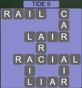 Wordscapes Shore Tide 9 - Level 4137 Answers