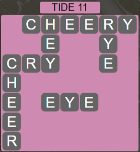 Wordscapes Shore Tide 11 - Level 4139 Answers