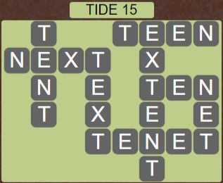 Wordscapes Shore Tide 15 - Level 4143 Answers