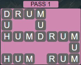 Wordscapes Ravine Pass 1 - Level 4209 Answers