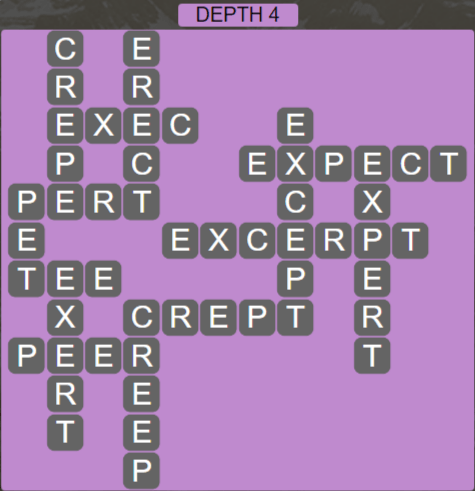 Wordscapes Ravine Depth 4 - Level 4228 Answers