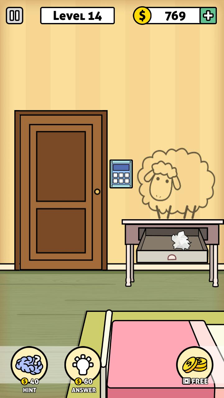 Escape Room Answers
