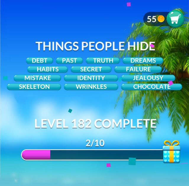 Word Stacks Level 182 Answers Qunb