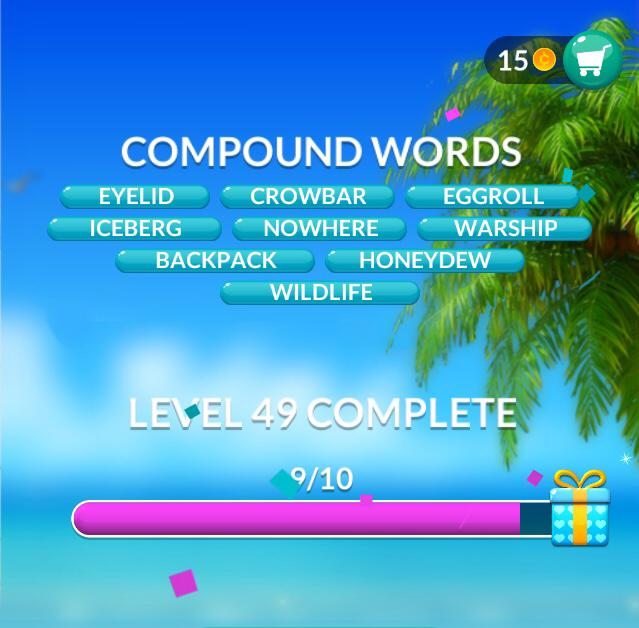 Word Stacks Level 49 Answers