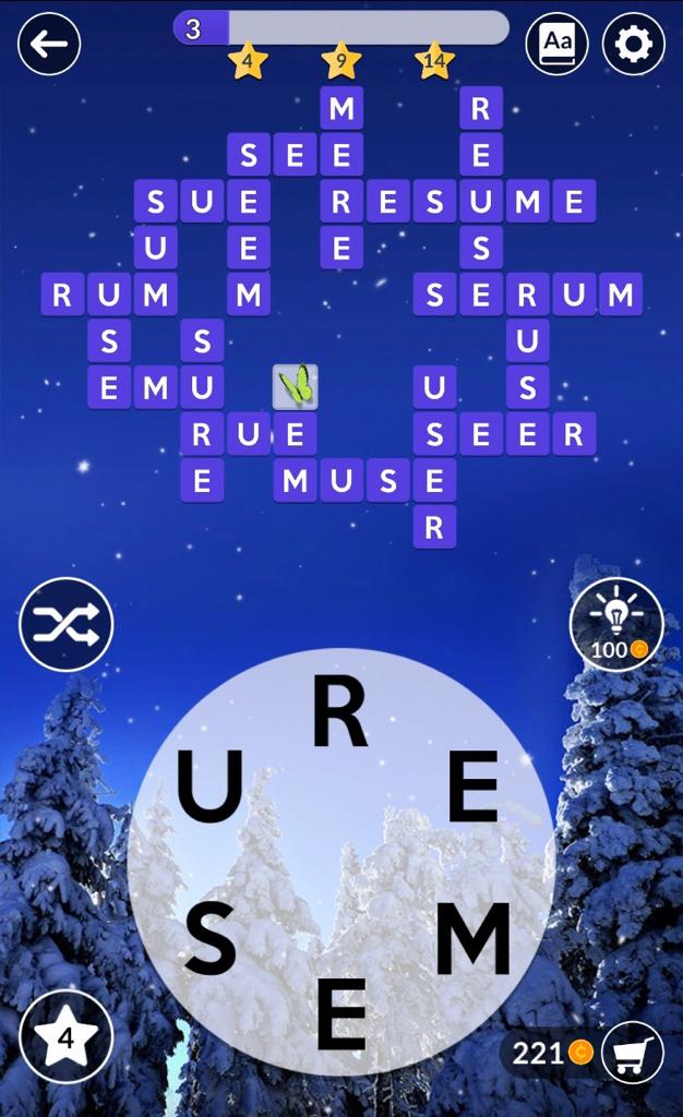 Wordscapes Daily Puzzle December 28 2018 Answers » Qunb