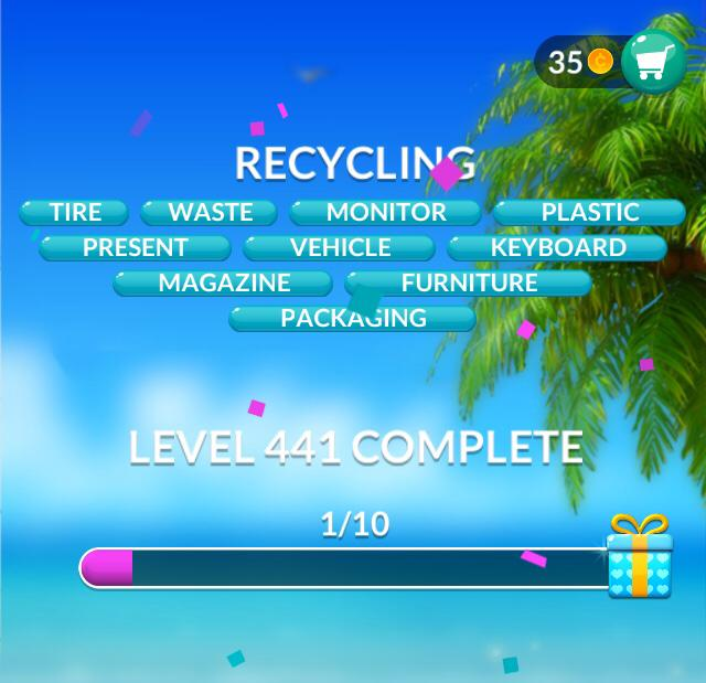 Word Stacks Level 441 Recycling Answers