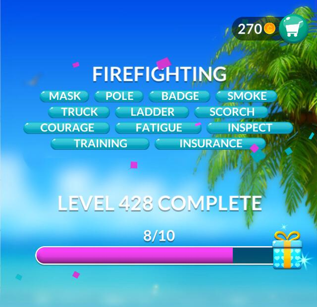 Word Stacks Level 428 Firefighting Answers