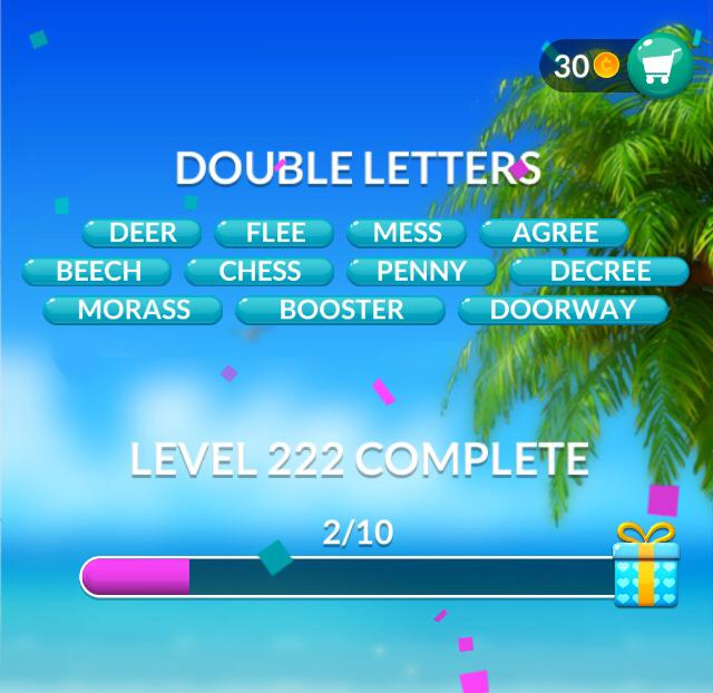 Word Stacks Level 222 Answers