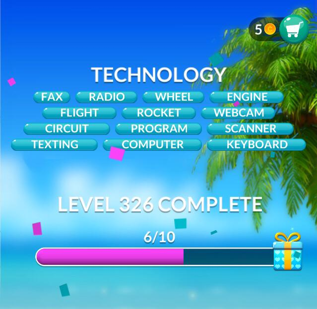 Word Stacks Level 326 Technology Answers
