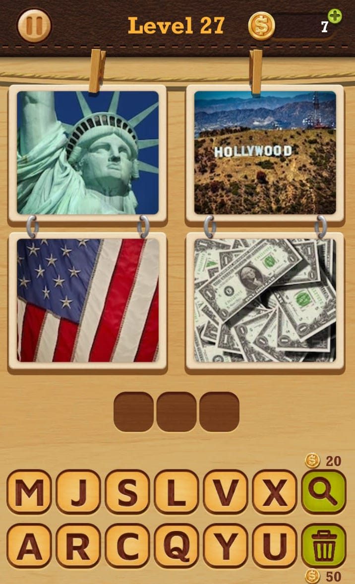 Guess The Word 4 Pics 1 Word Answers