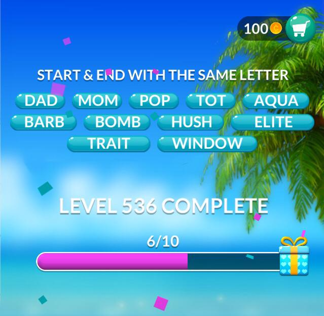 Word Stacks Level 536 Answers