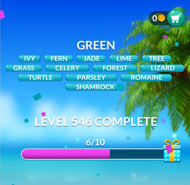 Word Stacks Level 546 Green Answers