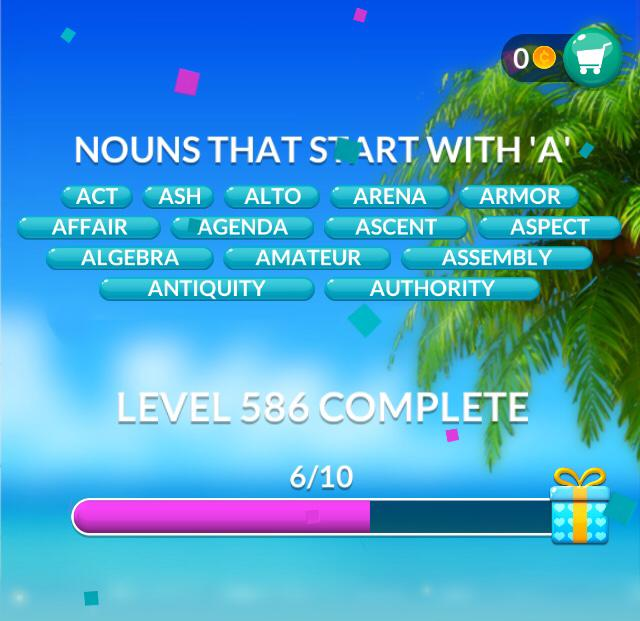 Word Stacks Level 586 Answers