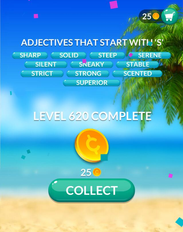 Word Stacks Level 620 Answers