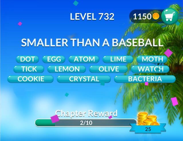 Word Stacks Level 732