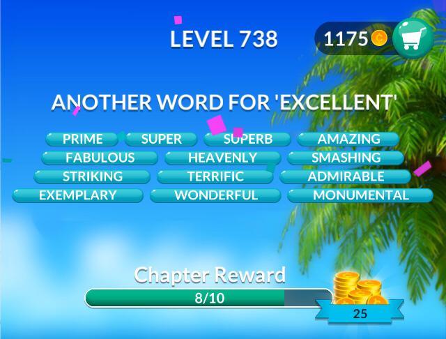 Word Stacks Level 738