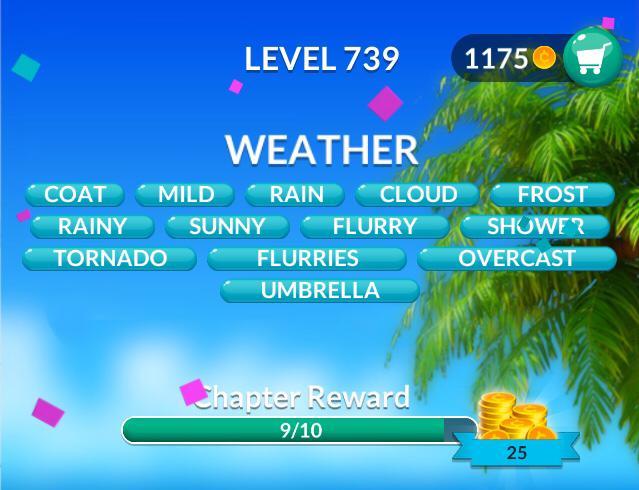 Word Stacks Level 739