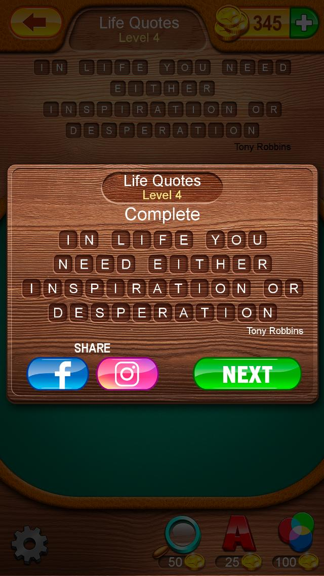 Word Search Quotes Life Quotes Level 4 Answers Qunb