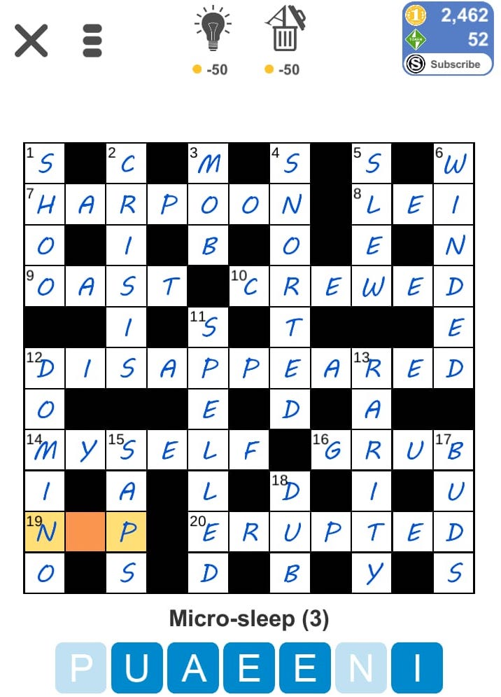 Puzzle Page Daily Crossword April 24 2019 Answers (All in
