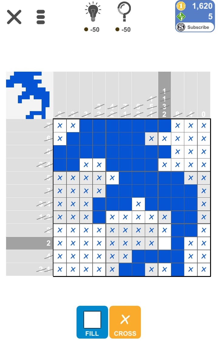 Puzzle Page Picture Cross May 1 2019 Solutions » Qunb