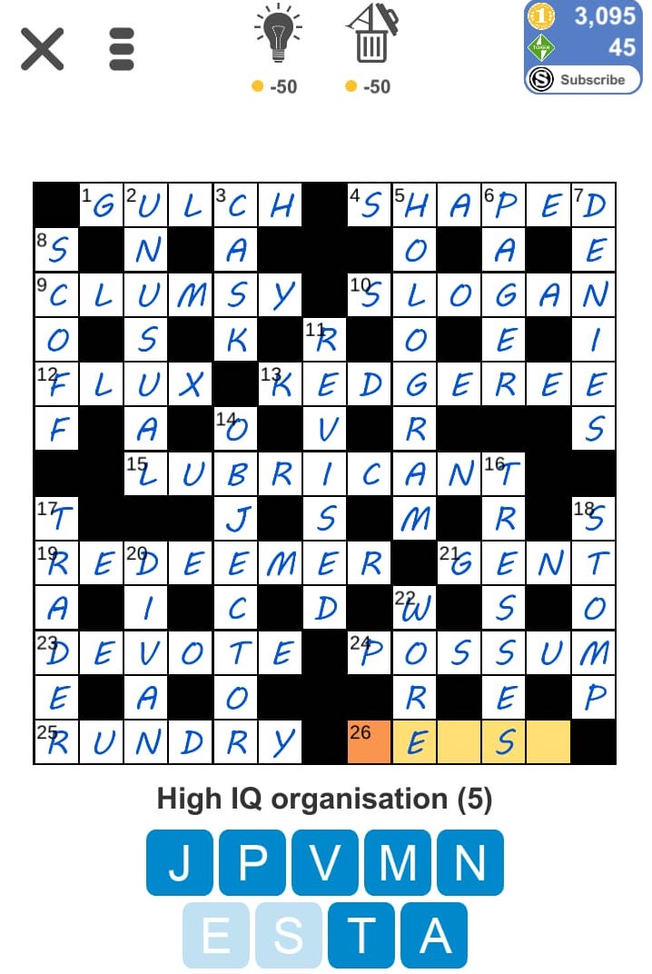 Monastic Hood Crossword Clue Archives Laxcrossword Com