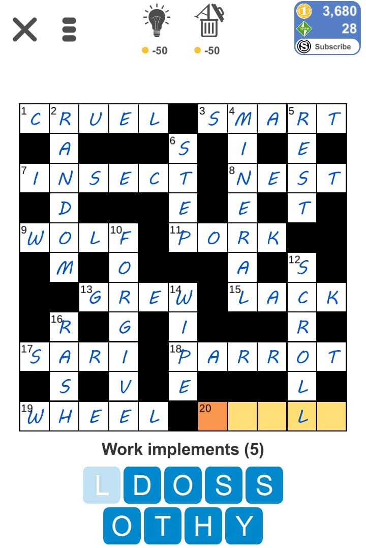 Puzzle Page Crossword May 20 2019 Answers All In One Page Qunb