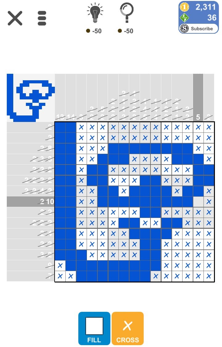 Puzzle Page Picture Cross May 10 2019 Solutions » Qunb