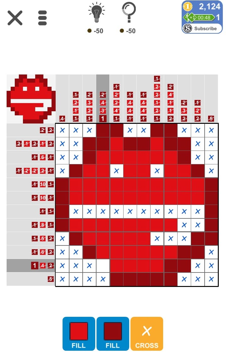 Puzzle Page Picture Cross May 2 2019 Solutions » Qunb