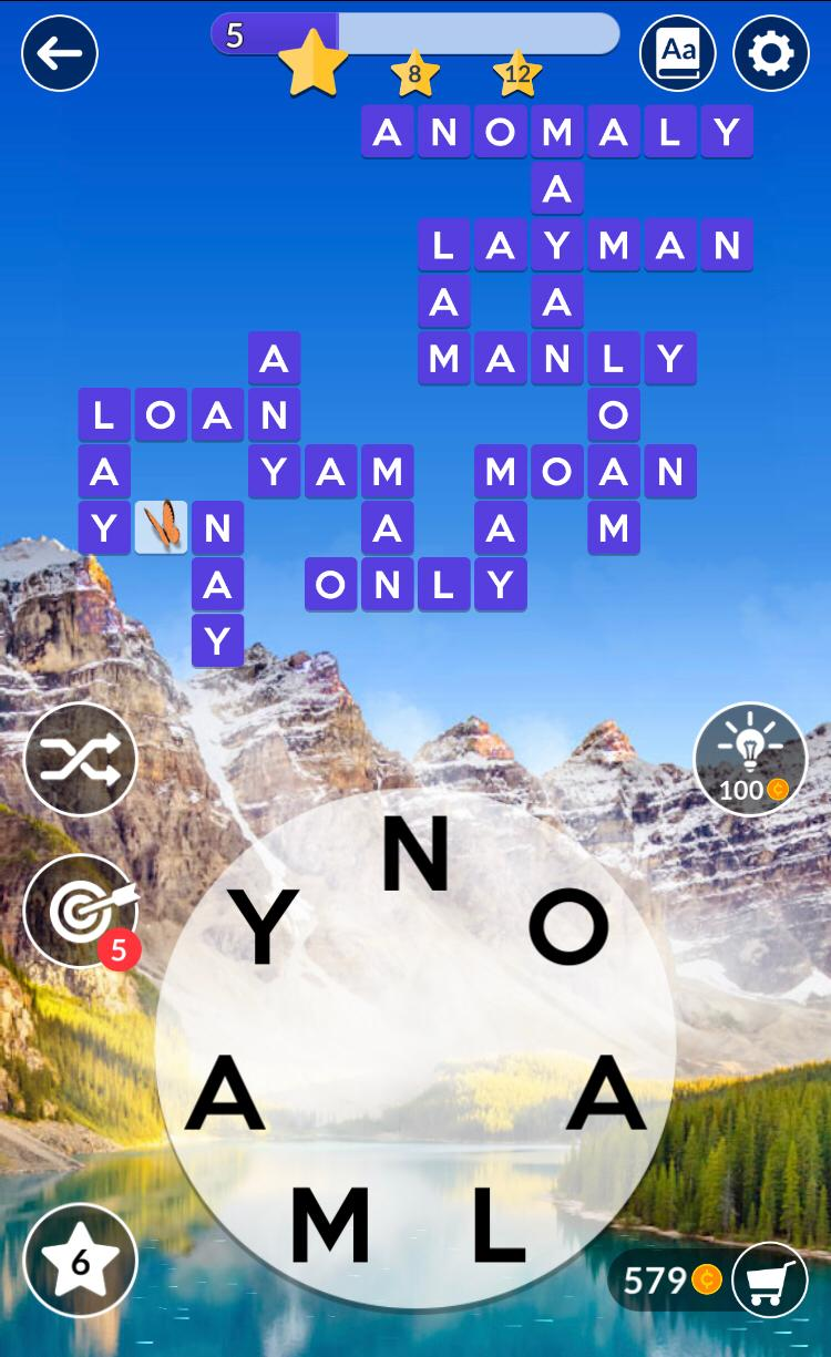 Wordscapes Daily Puzzle June 14 2019 Answers » Qunb