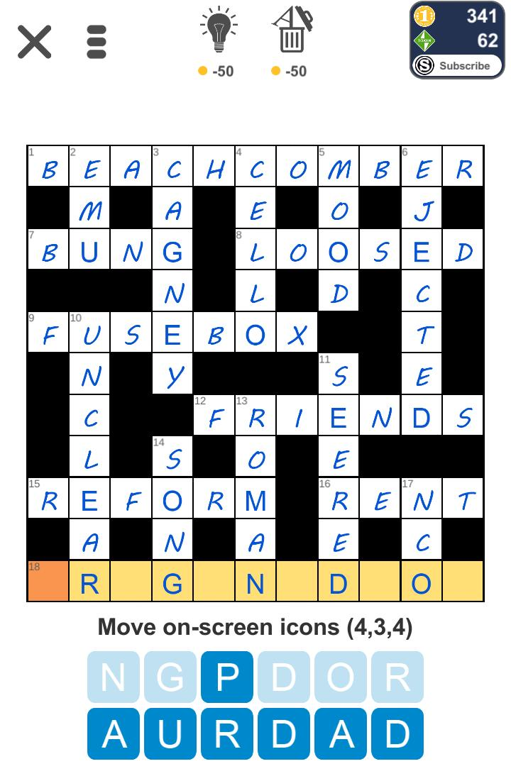 Puzzle Page Crossword July 17 2019 Answers All In One Page Qunb
