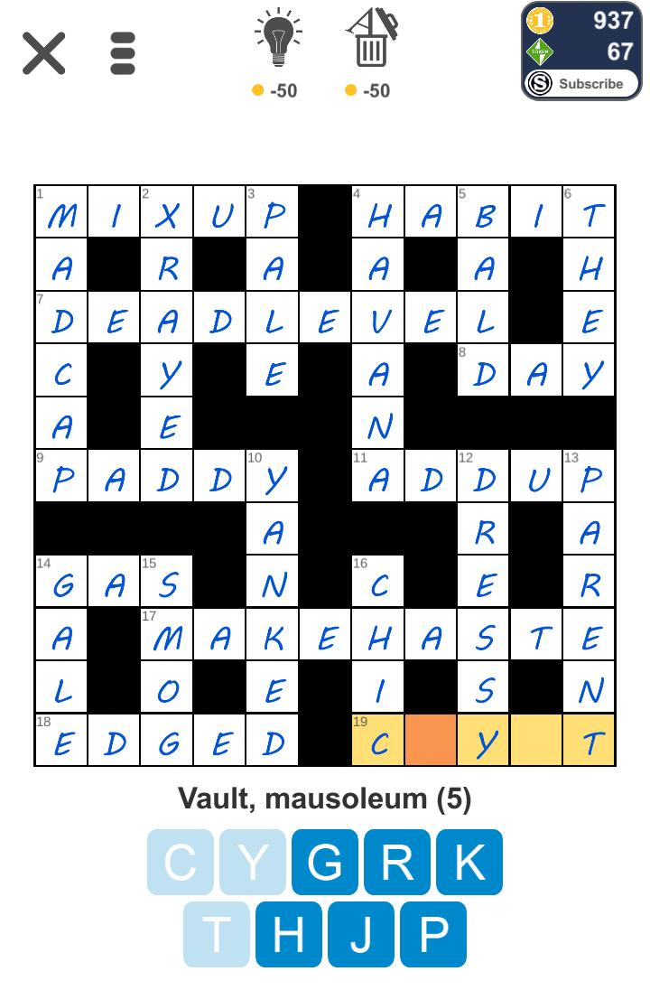 Puzzle Page Crossword July 24 2019 Answers All In One Page Qunb
