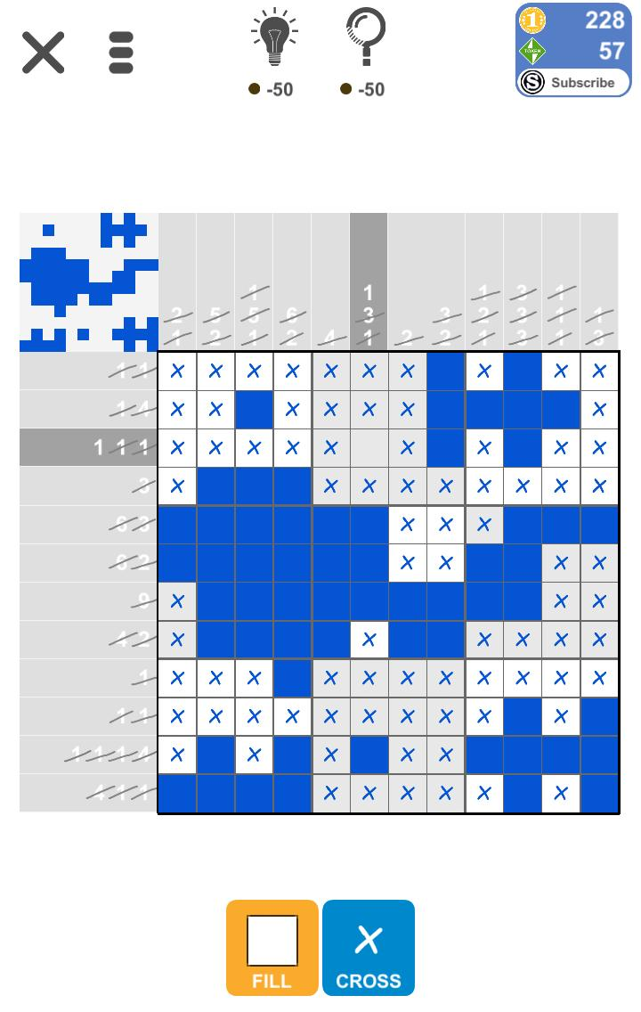 Puzzle Page Picture Cross July 14 2019 Solutions » Qunb