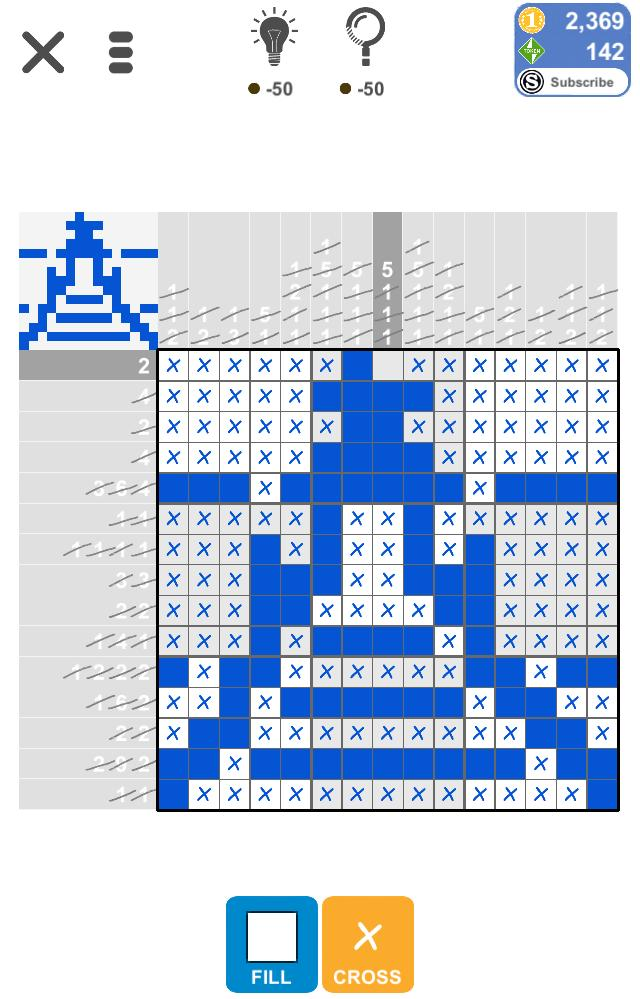 Puzzle Page Picture Cross July 3 2019 Solutions » Qunb