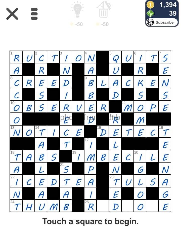 Puzzle Page Challenger September 1 2019 Answers All In One Page Qunb