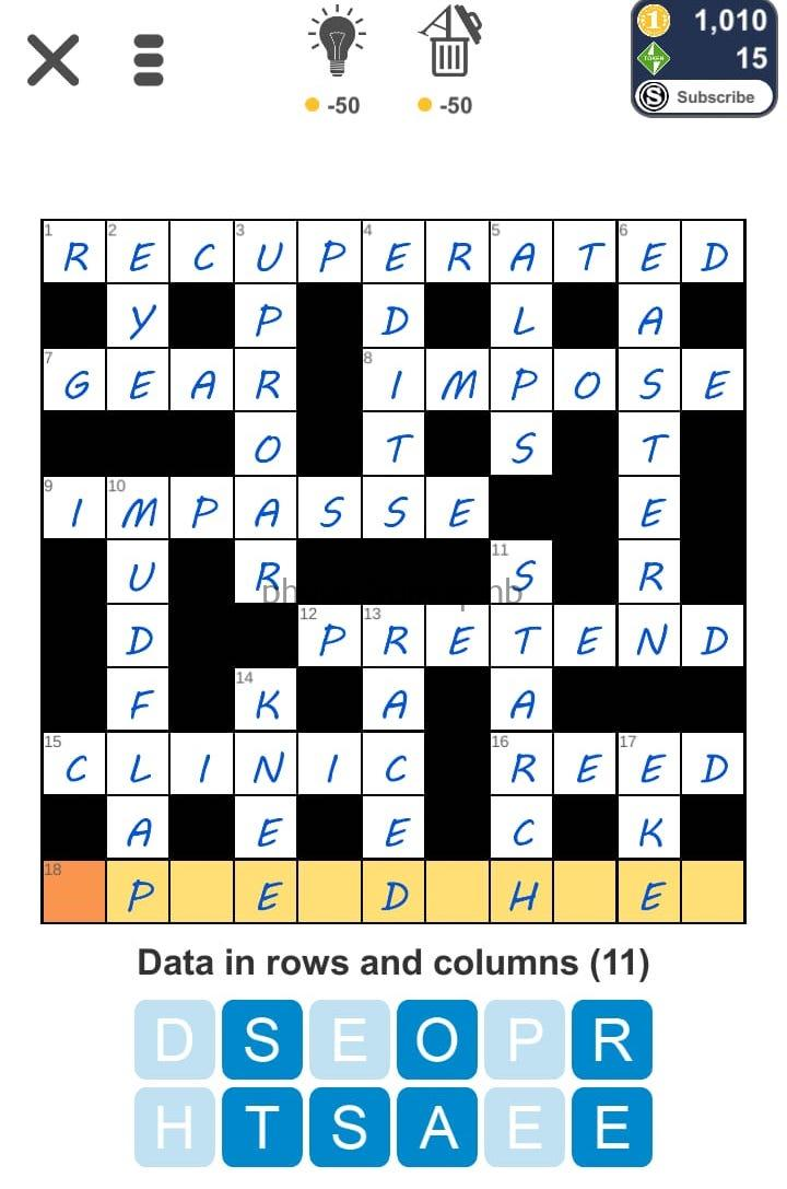 Puzzle Page Crossword September 5 2019 Answers (All in one