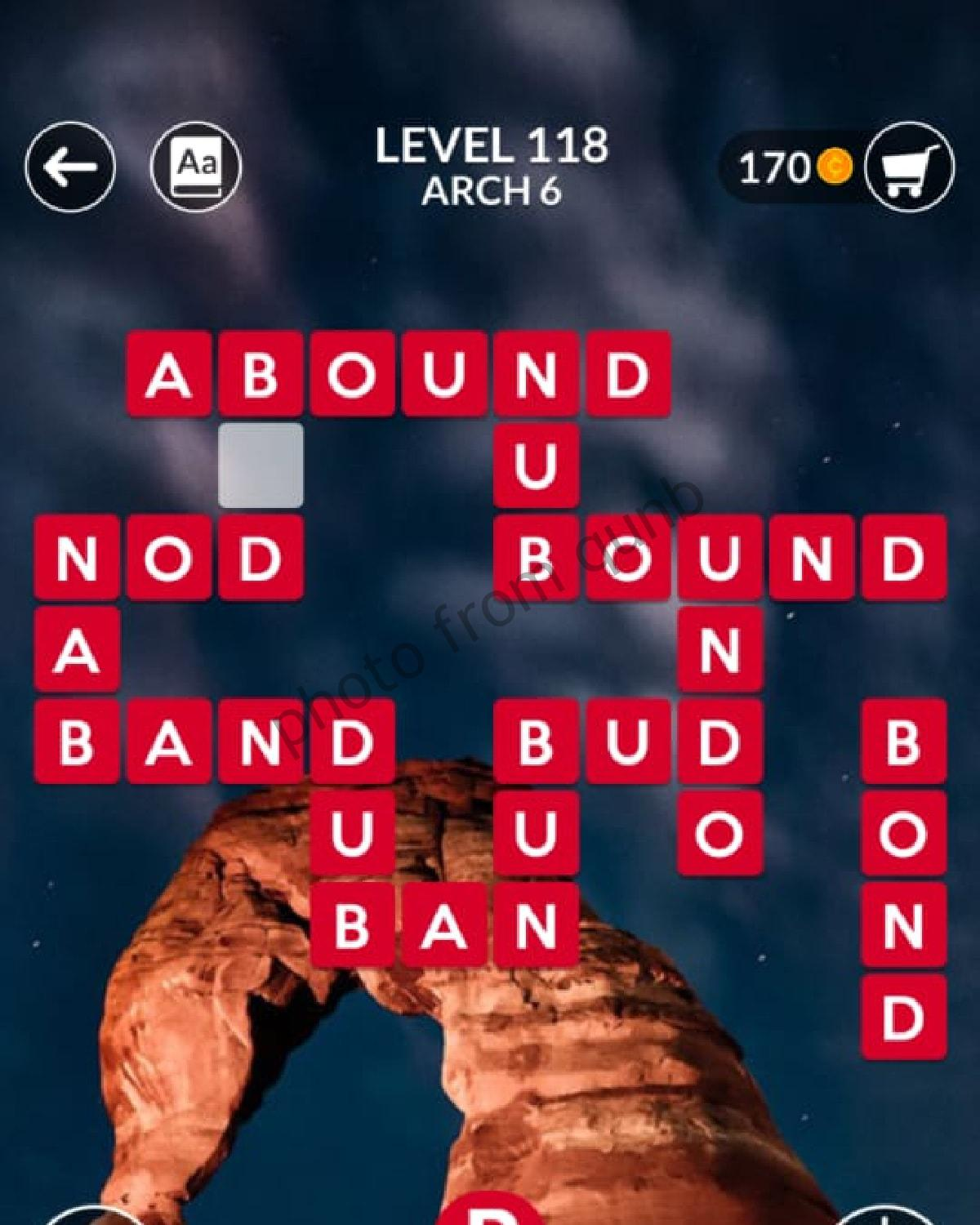 Wordscapes Level 118 Arch 6 Answers Qunb